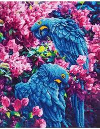 kleurrijk diamond painting patroon